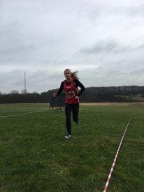 Dorthea Jørgensen var klart foran, da hun løb ud på anden runde af DGI Crossserie i Fredericia.