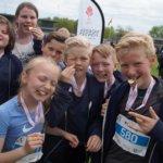 Skole fra Haderslev løb med spændingsfuld sejr.