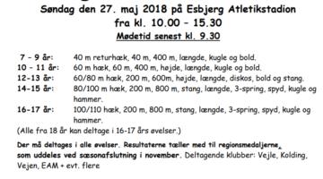 Regionsstorstævne i Esbjerg den 27. maj – tilmelding nu
